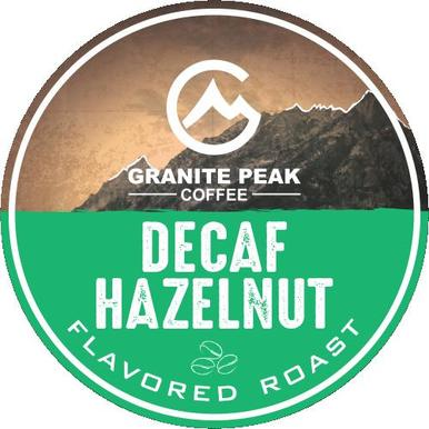 Decaf Hazelnut Single Cups 24ct