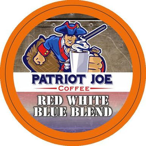Red White and Blue Blend Single Cups 24ct