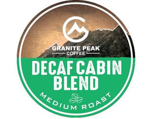 Decaf Cabin Blend Single Cups 24ct