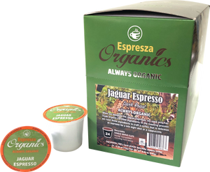 Jaguar Espresso Single Cups 24ct