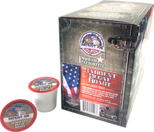 Load image into Gallery viewer, Sergeant Roast Decaf Single Cups 24ct