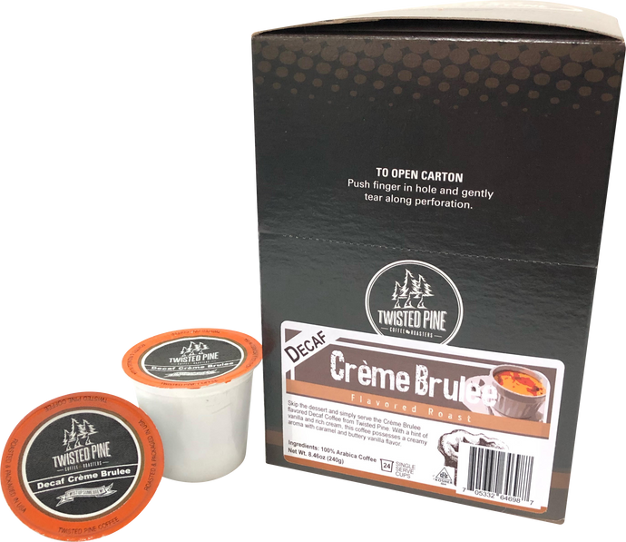 Decaf Creme Brulee Single Serve 24ct