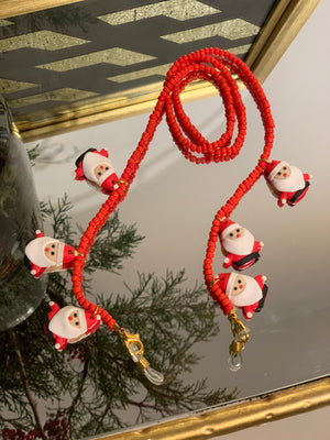 Sunny Cord / Mask Holder Santa Claus