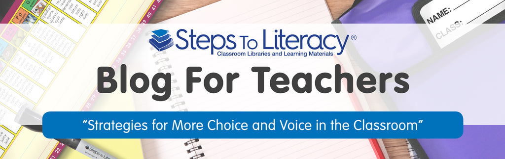 Blog Header 2- Strategies for More Choice and Voice in the Classroom