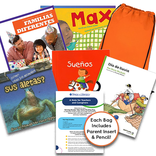 Take Home Reading Bag: Gr.1, Striving Readers (spa, $35)