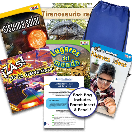 Take Home Reading Bag: Gr.2, High-Interest Nonfiction (spa, $50)