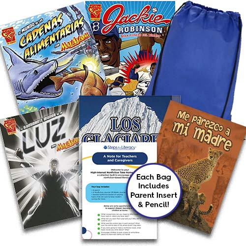 Take Home Reading Bag: Gr.5, High-Interest Nonfiction (spa, $50)