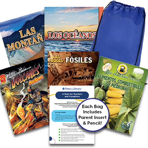 Take Home Reading Bag: Gr.6, High-Interest Nonfiction (spa, $50)