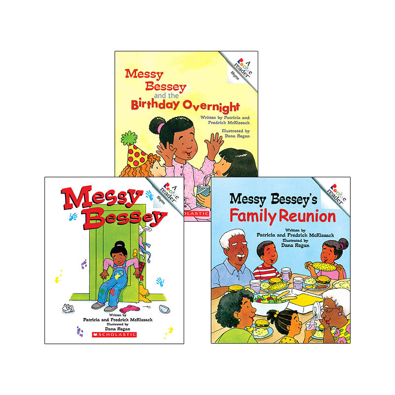 Messy Bessey Series: Variety Pack