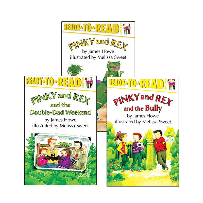 Pinky And Rex Chapter Books: Variety Pack