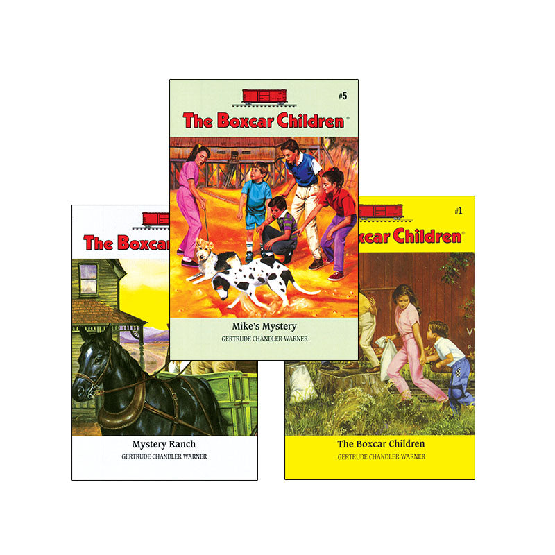 The Boxcar Children: Variety Pack