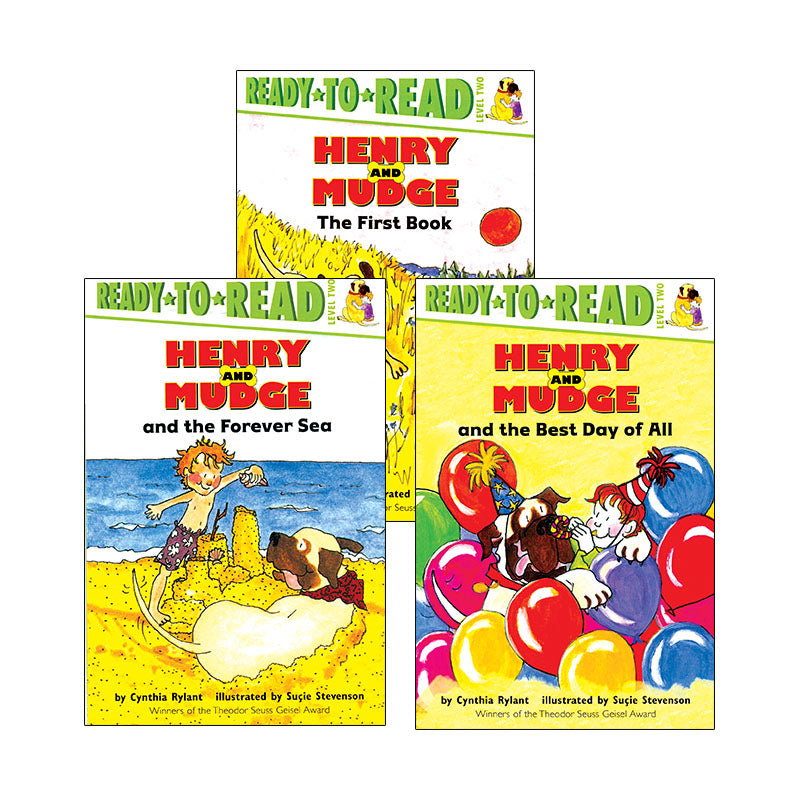 Henry And Mudge Series: Variety Pack