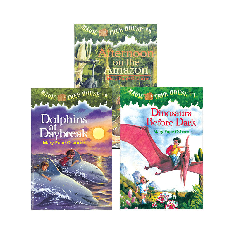Magic Tree House Chapter Book Series: Variety Pack