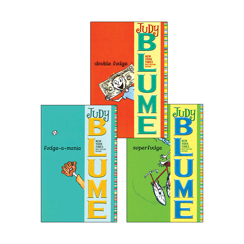 Judy Blume's Fudge Series: Variety Pack