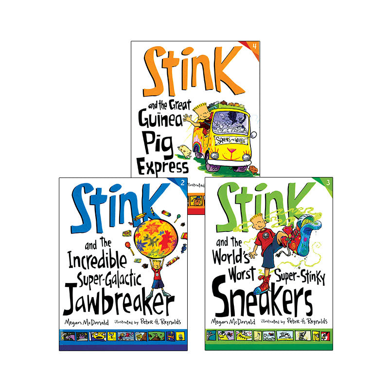 Stink Series Set 1: Variety Pack