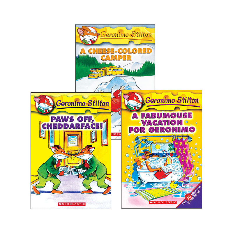 Geronimo Stilton Collection: Variety Pack