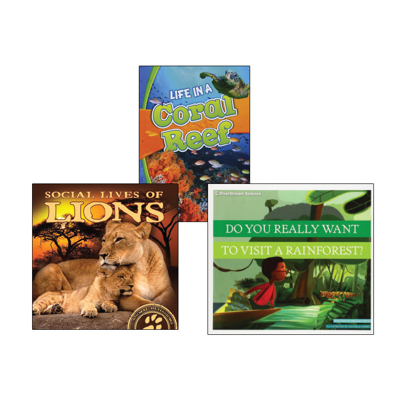 High Interest Science - Endangered!...- Grades 1-2: Variety Pack