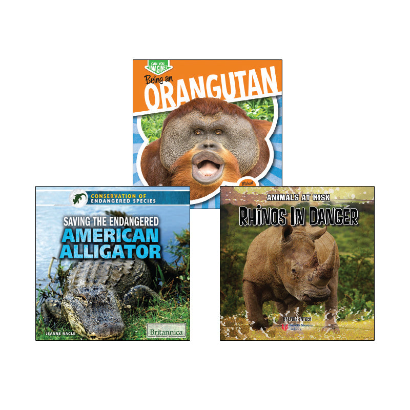 High Interest Science - Endangered!...- Grades 2-3: Variety Pack