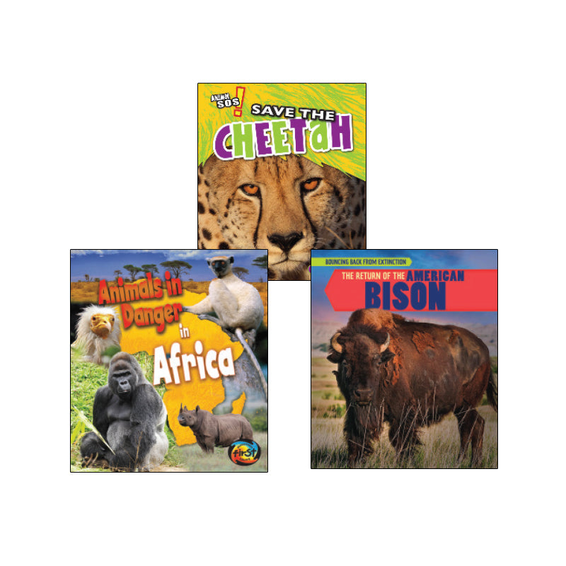 High Interest Science - Endangered!...- Grades 3-4: Variety Pack