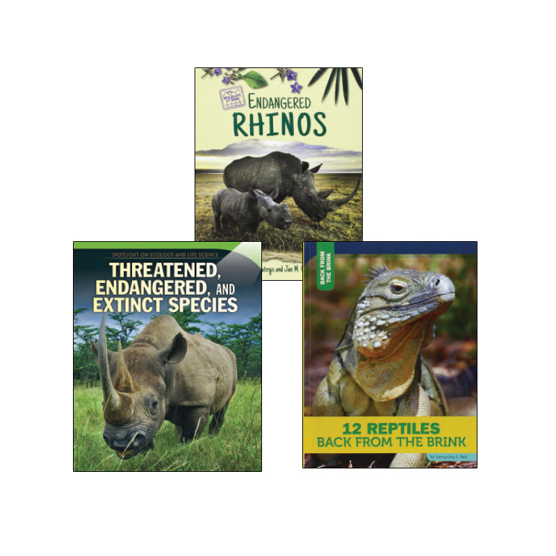 High Interest Science - Endangered!...- Grades 4-5: Variety Pack