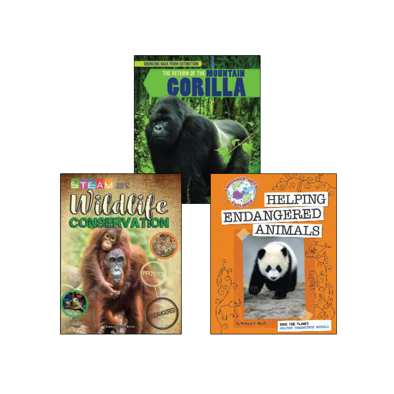 High Interest Science - Endangered!...- Grades 5-6: Variety Pack