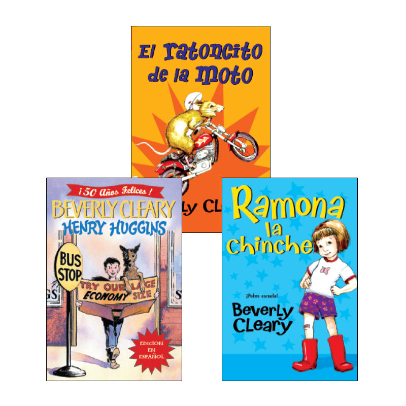 Beverly Cleary Spanish Readers: Variety Pack