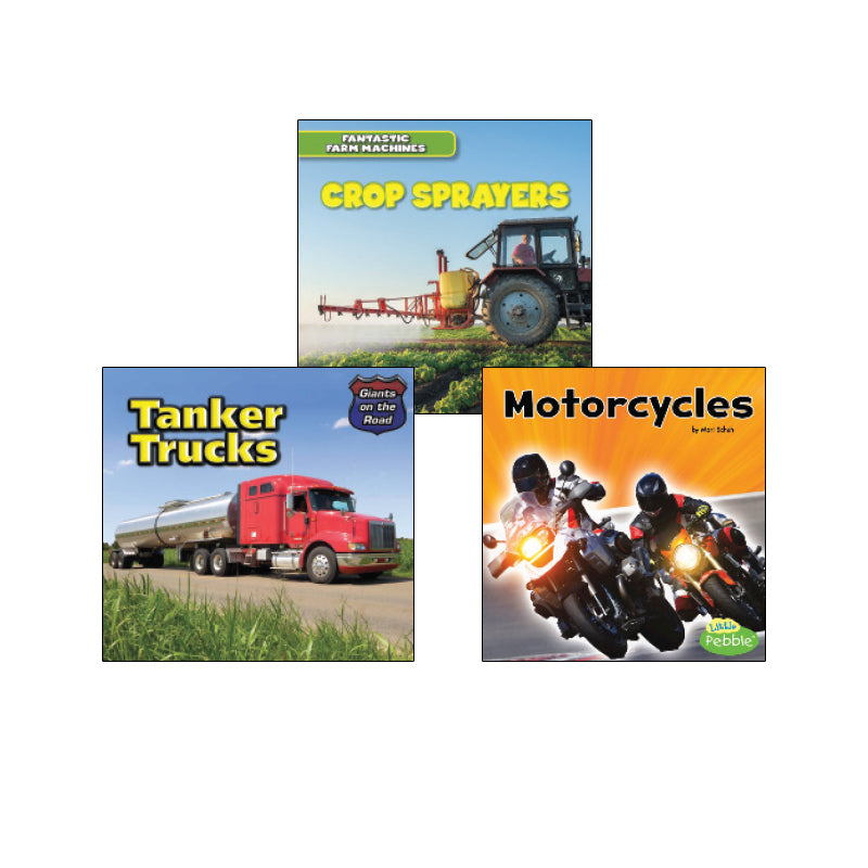 High Interest Science - Engines...- Grades 1-2: Variety Pack