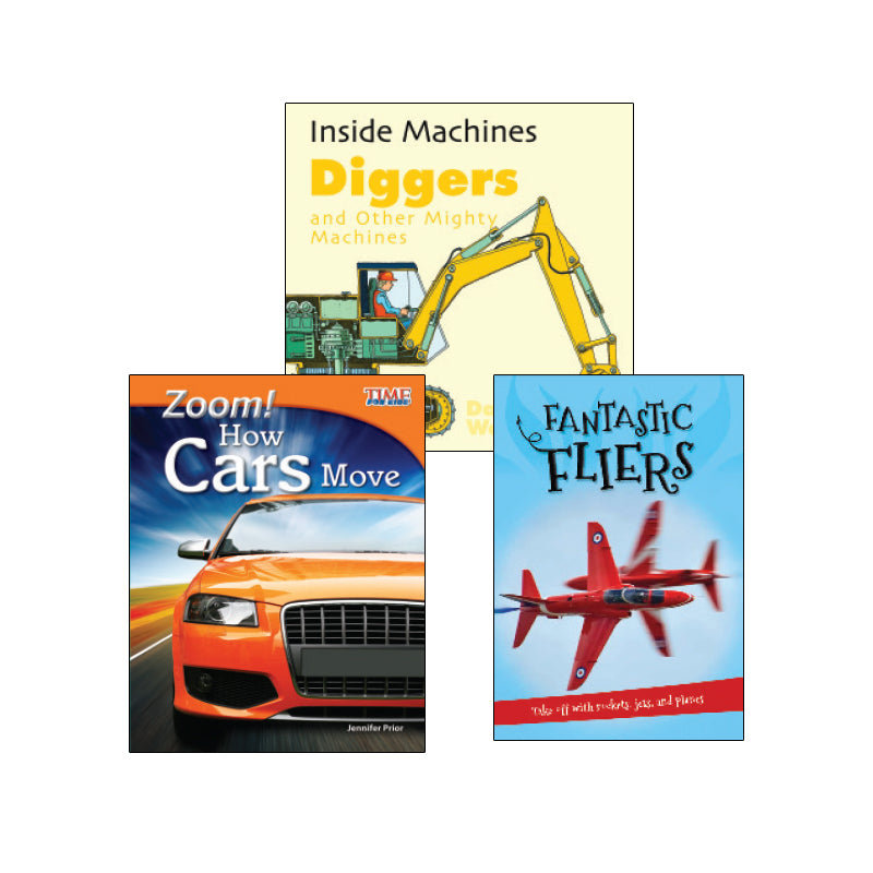 High Interest Science - Engines...- Grades 2-3: Variety Pack