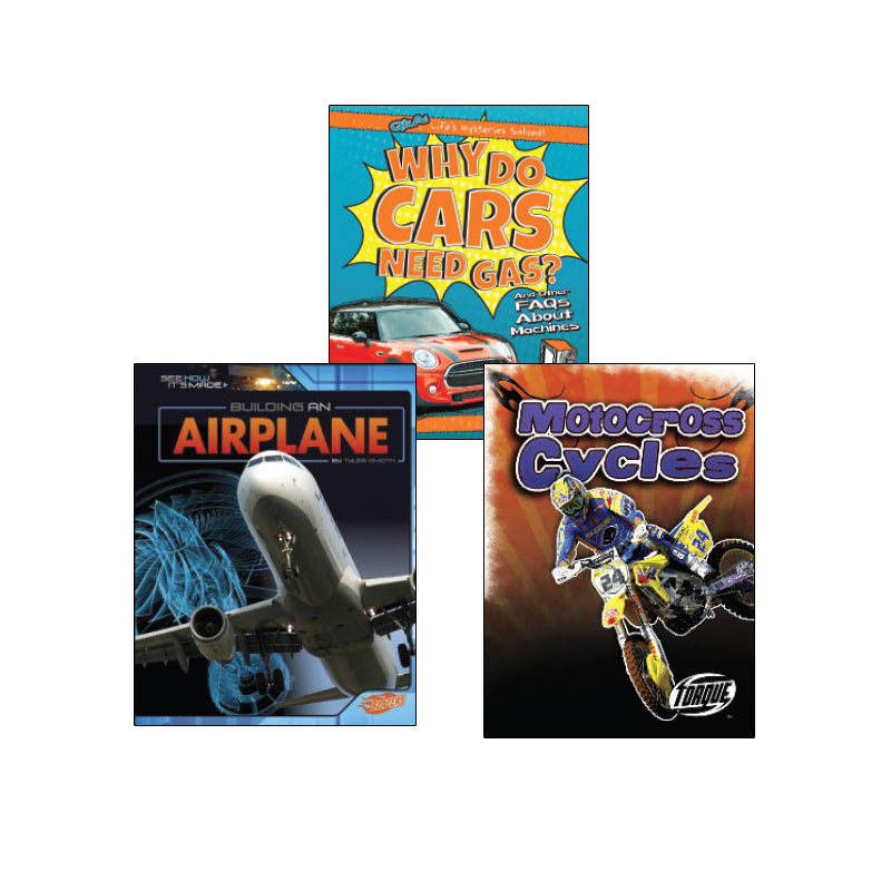 High Interest Science - Engines...- Grades 3-4: Variety Pack