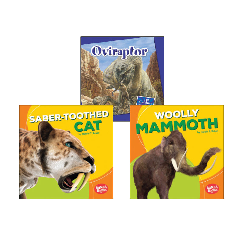 High Interest Science - Extinct! Dinosaurs...- Grades 1-2: Variety Pack