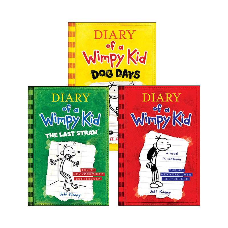 Diary Of A Wimpy Kid Set 1: Variety Pack