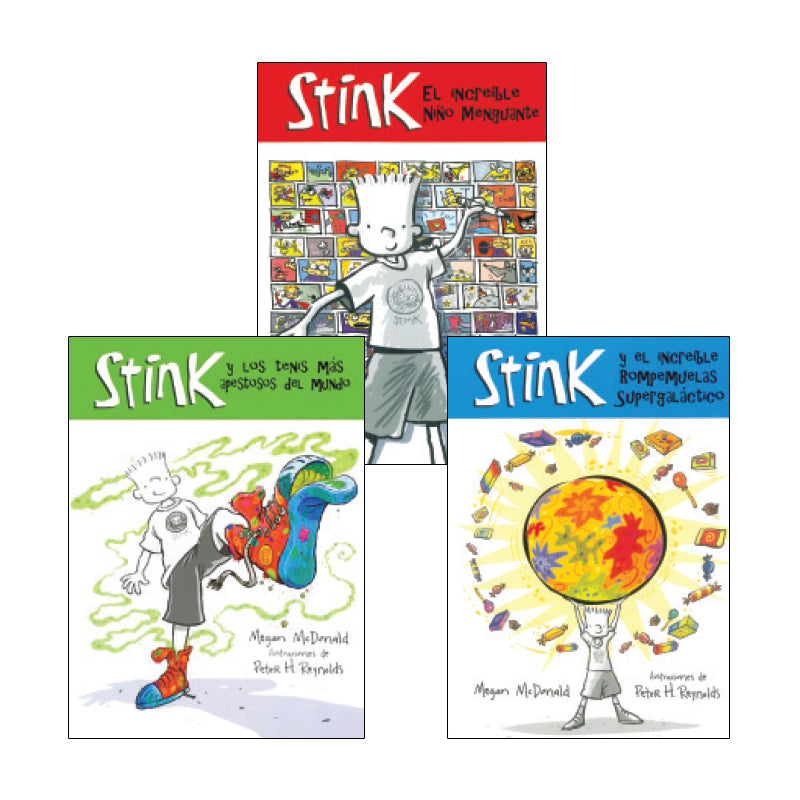 Stink Spanish Collection: Variety Pack