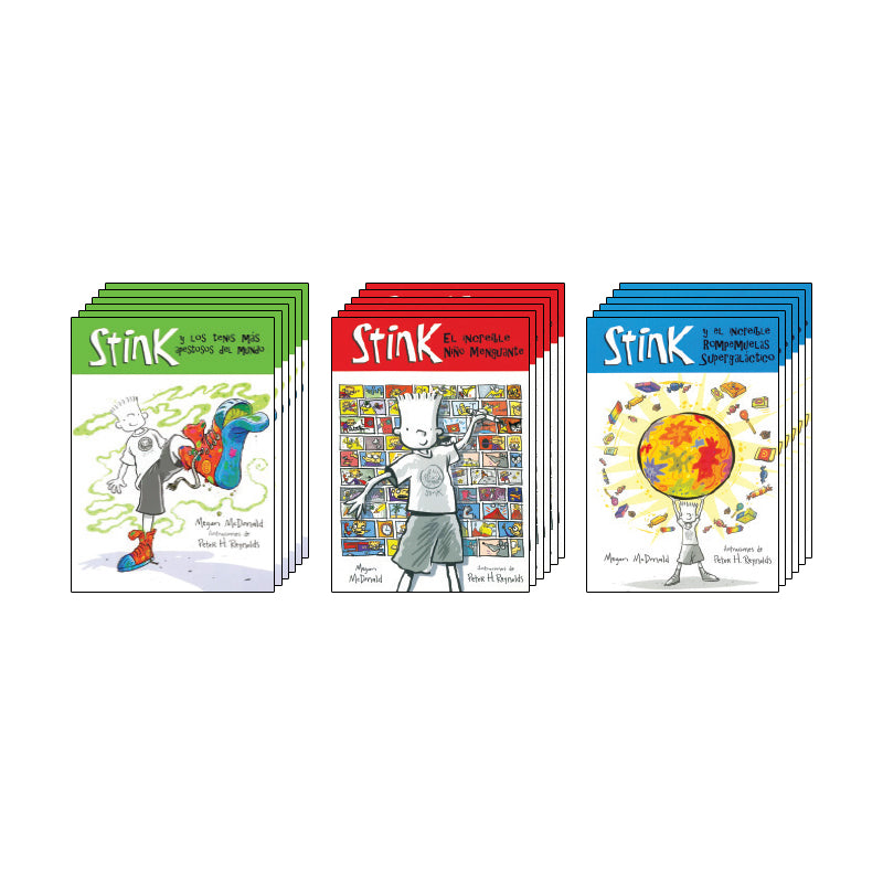 Stink Spanish Collection: Class Pack