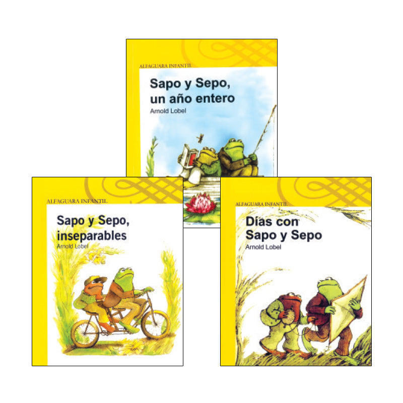 Frog And Toad Spanish Series: Variety Pack
