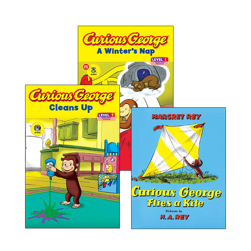 Curious George - Early Readers: Variety Pack