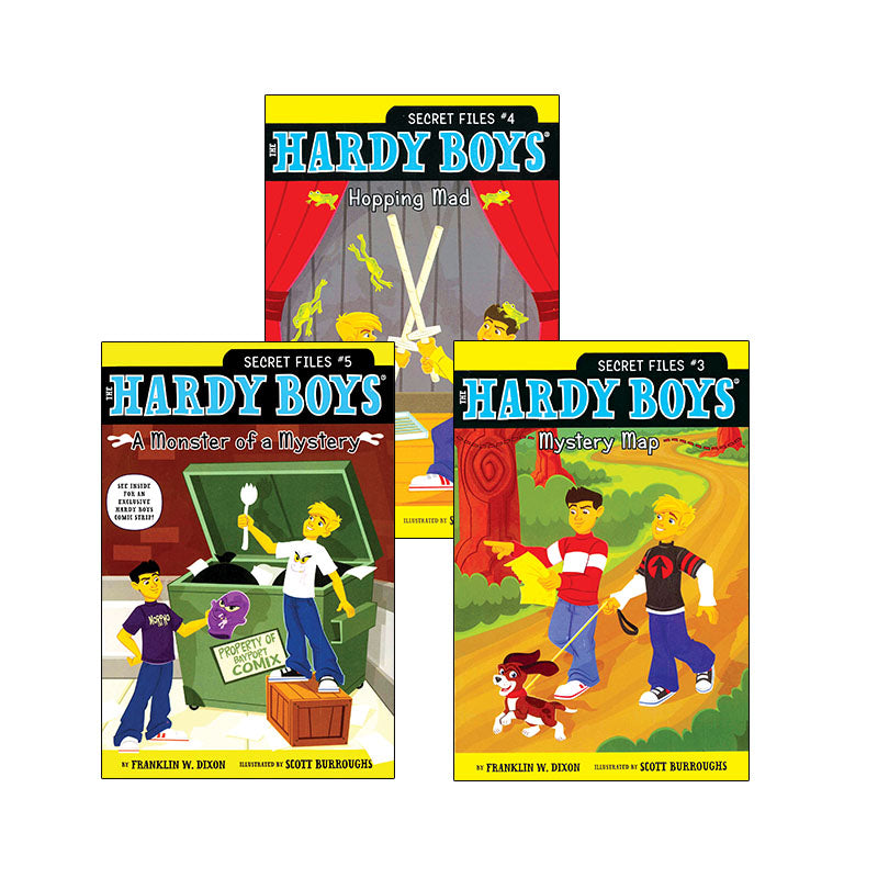 Hardy Boys Secret Files: Variety Pack