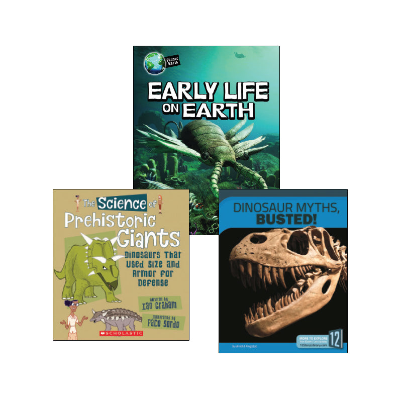 High Interest Science - Extinct! Dinosaurs...- Grades 4-5: Variety Pack