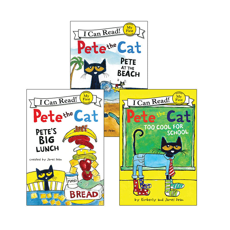 Fun With Pete the Cat and Splat The Cat!: Variety Pack