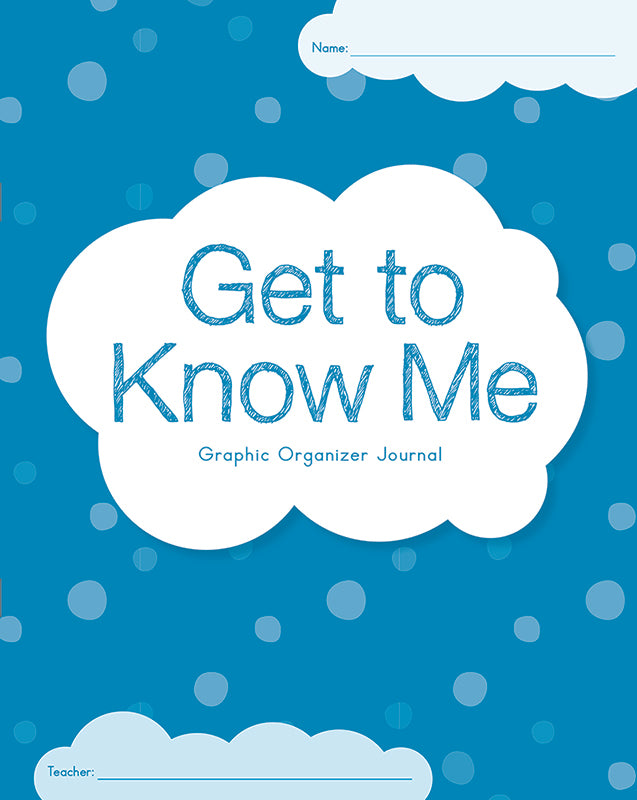 Get To Know Me Graphic Organizer Journal: K-1 (Set of 30)