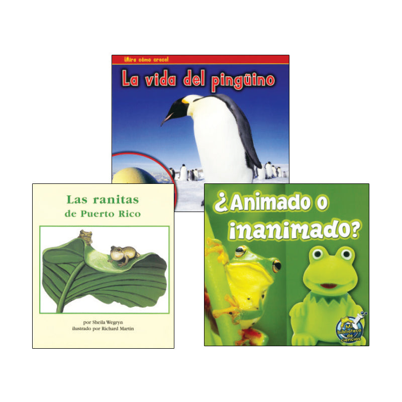 Spanish Leveled Readers I-J Nonfiction: Variety Pack