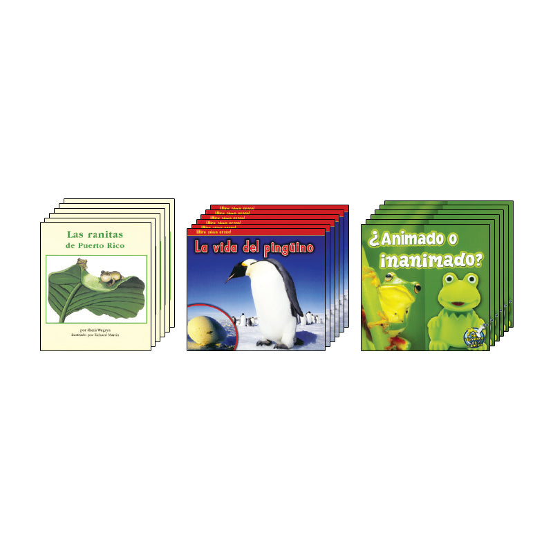 Spanish Leveled Readers I-J Nonfiction: Class Pack