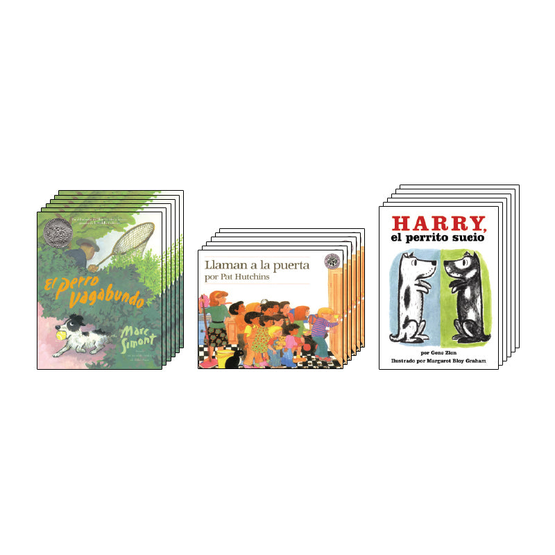 Spanish Leveled Readers I-J Fiction: Class Pack