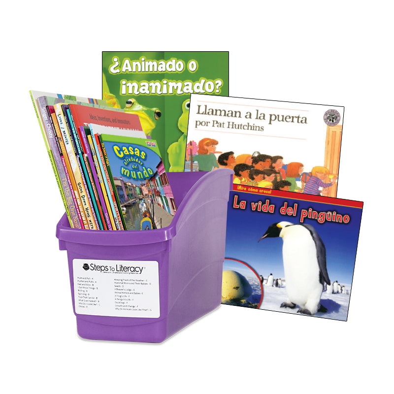 Spanish Leveled Readers I-J Fiction & Nonfiction: Complete Set