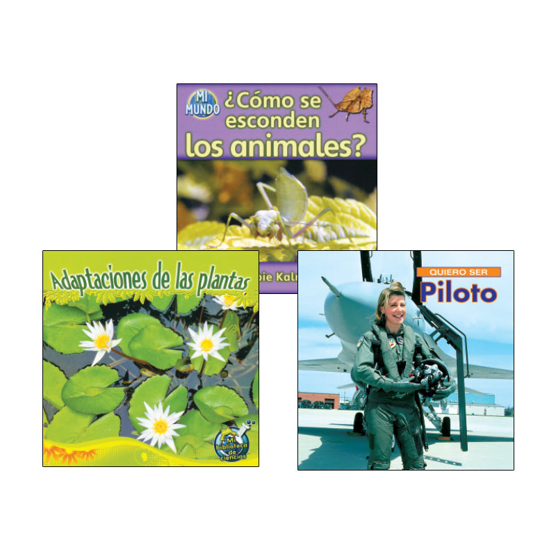 Spanish Leveled Readers G-H Nonfiction: Variety Pack