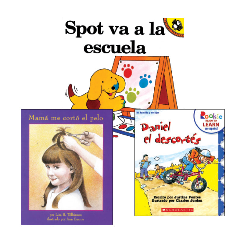 Spanish Leveled Readers G-H Fiction: Variety Pack
