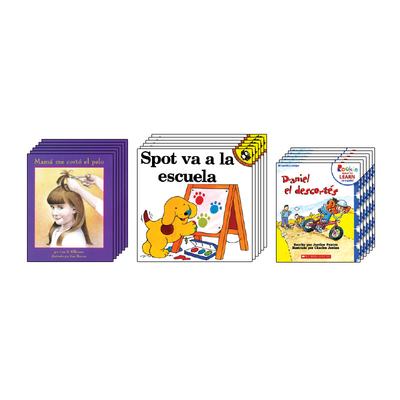 Spanish Leveled Readers G-H Fiction: Class Pack