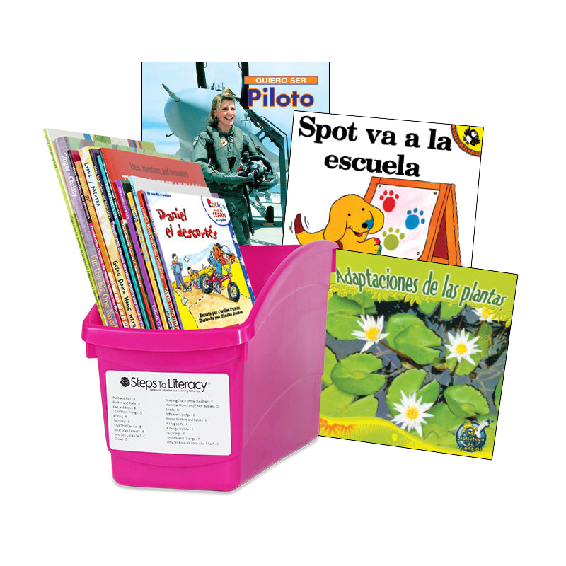 Spanish Leveled Readers G-H Fiction & Nonfiction: Complete Set