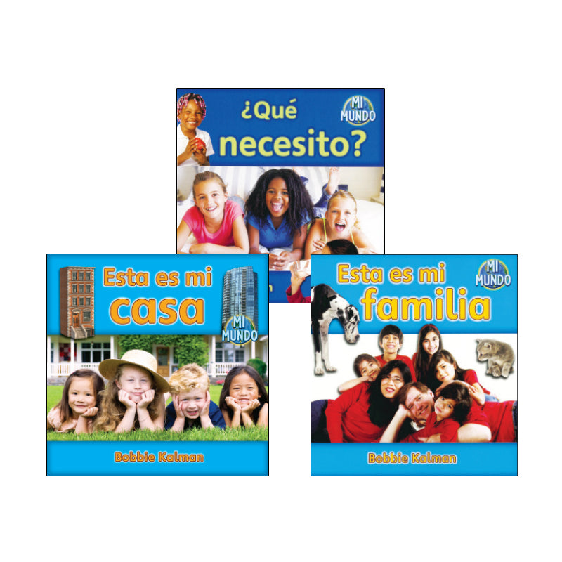 Spanish Leveled Readers E-F Nonfiction: Variety Pack