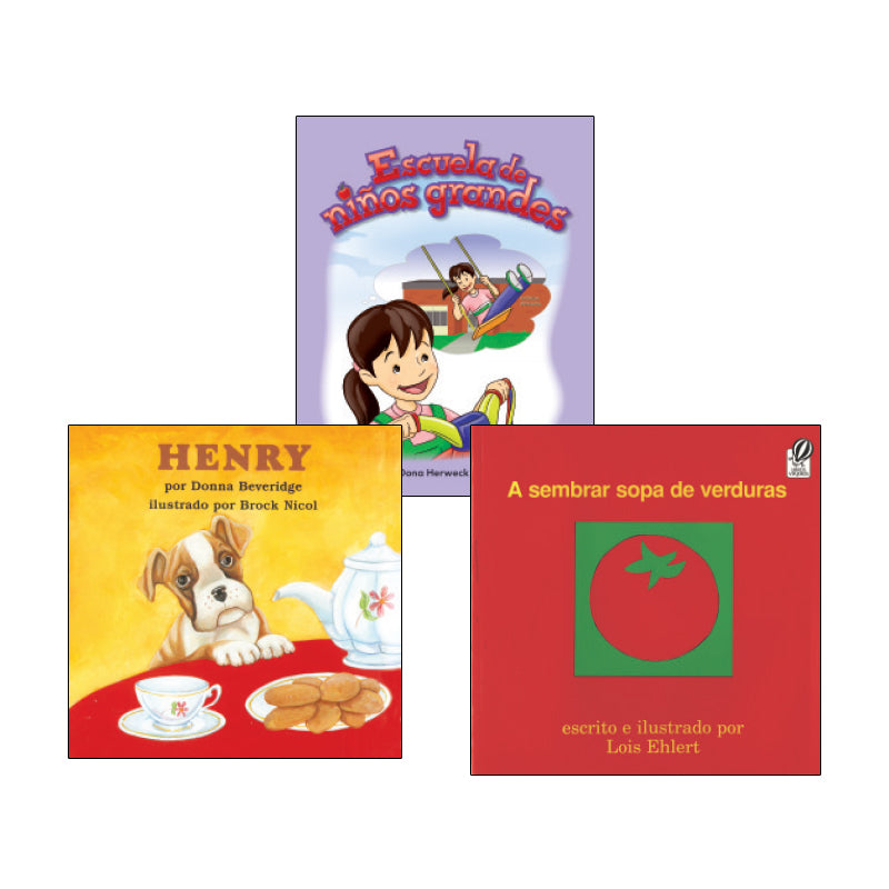 Spanish Leveled Readers E-F Fiction: Variety Pack