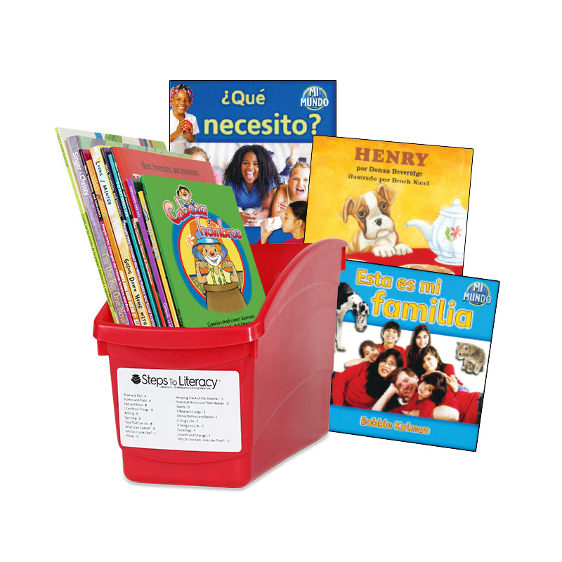 Spanish Leveled Readers E-F Fiction & Nonfiction: Complete Set